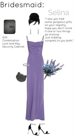 Selina's Bridesmaid Outfit