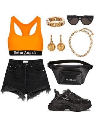 summer palm angels and balenciaga🔸