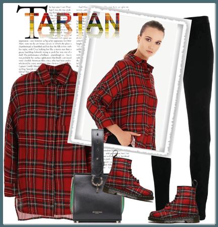 T as tartan
