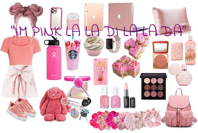 I'm pink.........