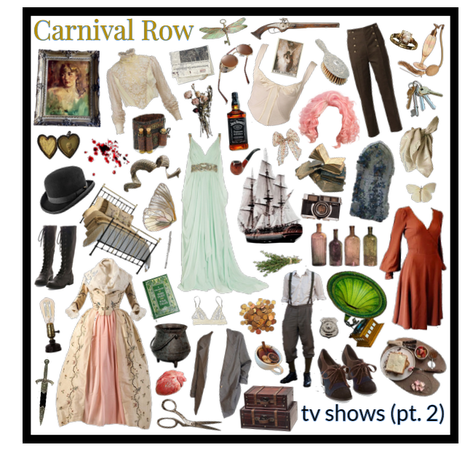 TV shows: (pt 2) - Carnival Row on Amazon Prime