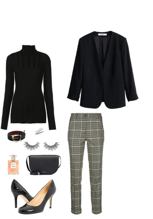 simple interview outfit