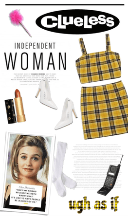 Clueless in yellow
