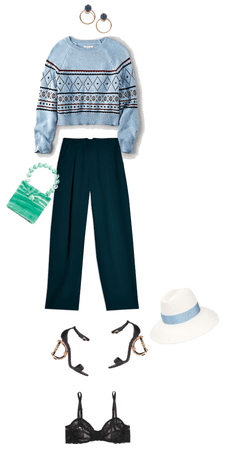 Spring Blue 70's Trends