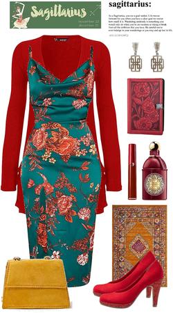 Sagittarius Oriental Theme