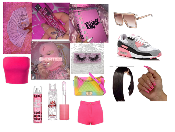 pink brazt doll