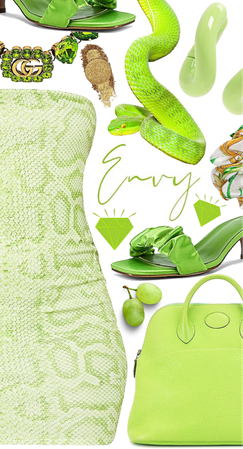 Green with...