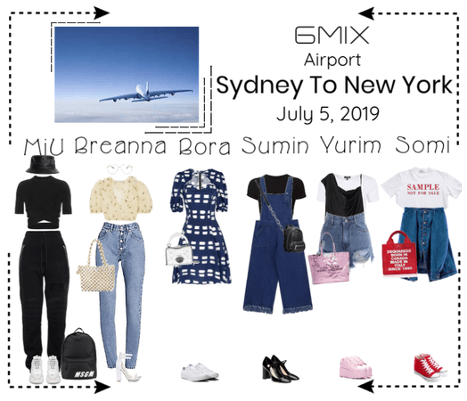 《6mix》Airport | Sydney To New York
