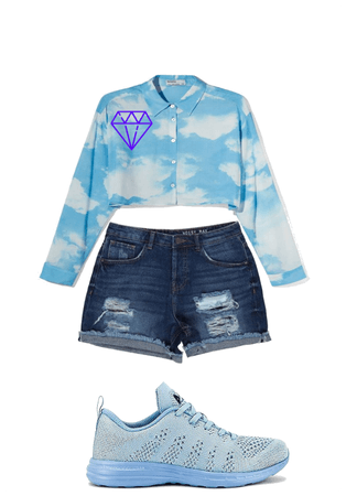 sky outfit