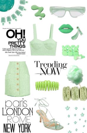 Fancy Green Fit