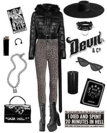 Goth boy winter