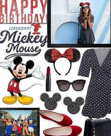 happy birthday Mickey Mouse !!!!!