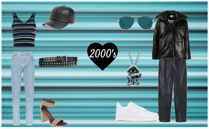 2000's Men and Women Outfits