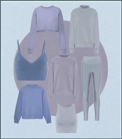 Blue Alo Yoga