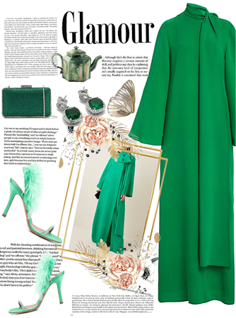 Green Glamour 🥂