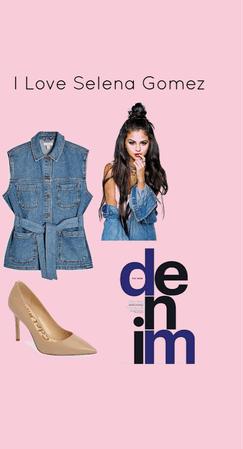 Selena Marie Gomez Denim