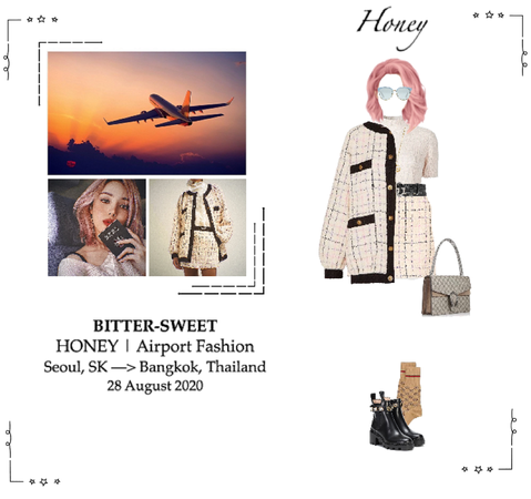 BITTER-SWEET [비터스윗] (HONEY) Airport Fashion 200828