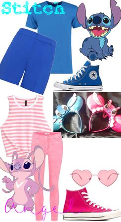 Stitch&Angel Disneybound