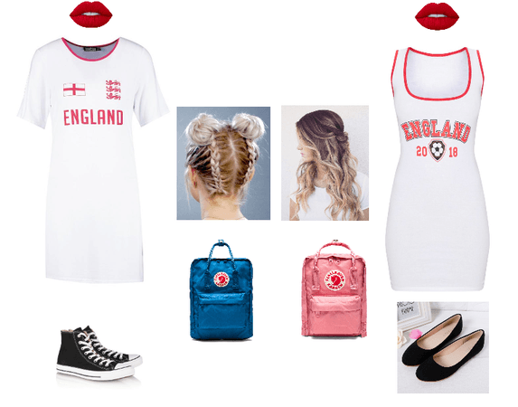 BFF England World cup outfit