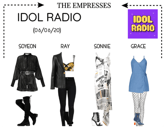 [EMPRESS] GUESTS ON IDOL RADIO
