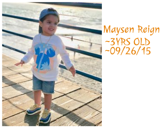 Meet Maysen Reign Thompson