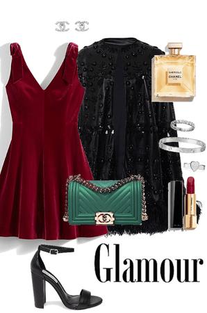 christmas - glamour