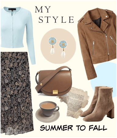 My style: summer to fall 🌻🍁