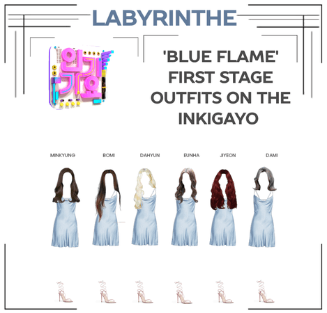 LABYRINTHE BLUE FLAME