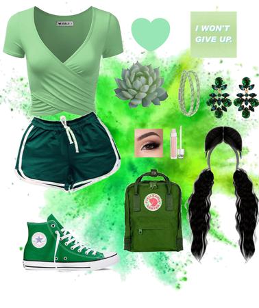 -Gorgeous Green-