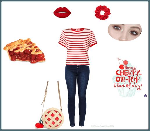 Cherry Pie Charm
