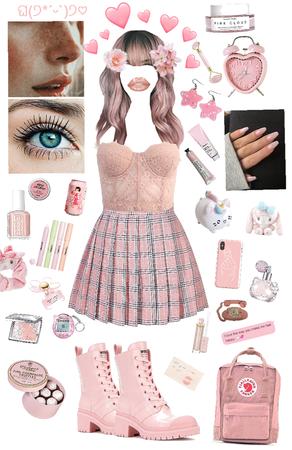 soft girl pink kawaii aesthetic