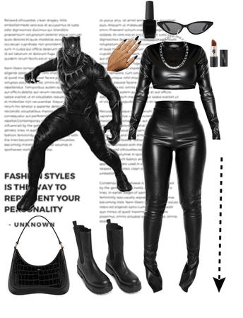 if i were a super hero - black phanter