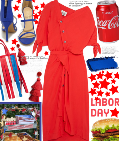 Labor Day Weekend BBQ| Red white and blue