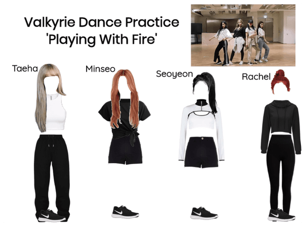 Valkyrie 'Playing With Fire' Dance Practice