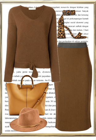 Simply Gemini in Brown