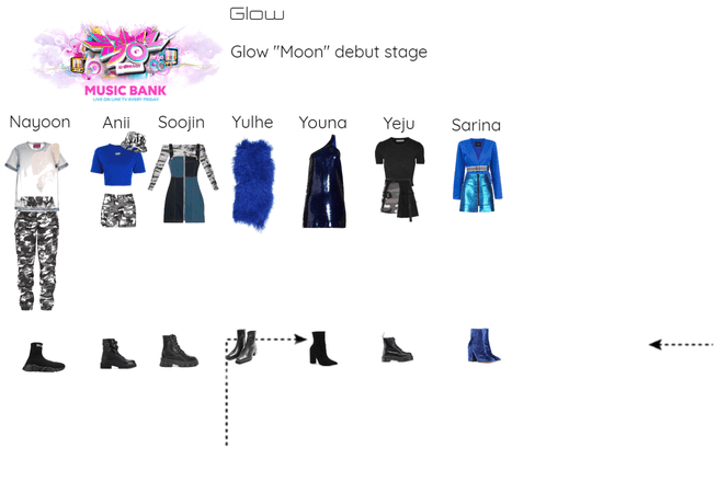 Glow debut stage