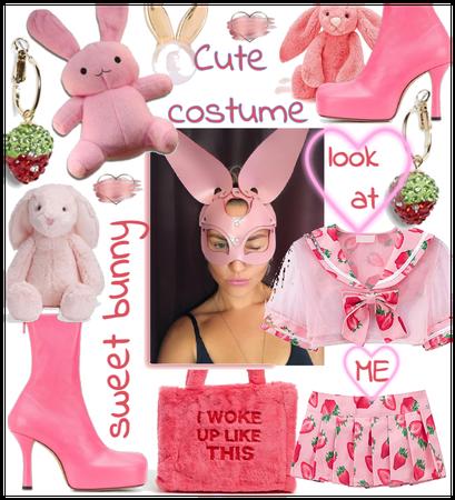 Cute bunny costume