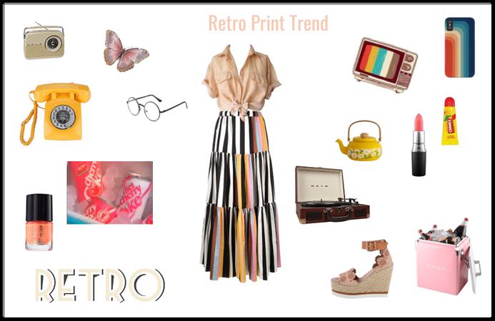 Retro Print Trend
