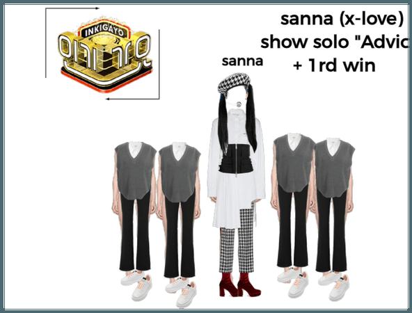 sanna show solo { Advice } + 1rd win