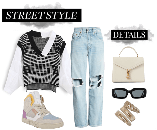 Sneakers inspired Street Style