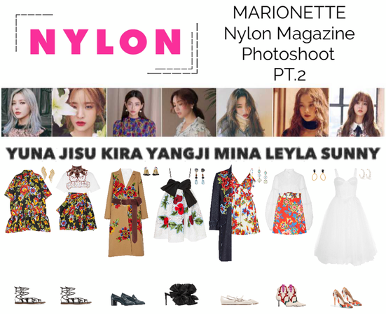 MARIONETTE (마리오네트) Nylon Magazine Photoshoot Pt.2