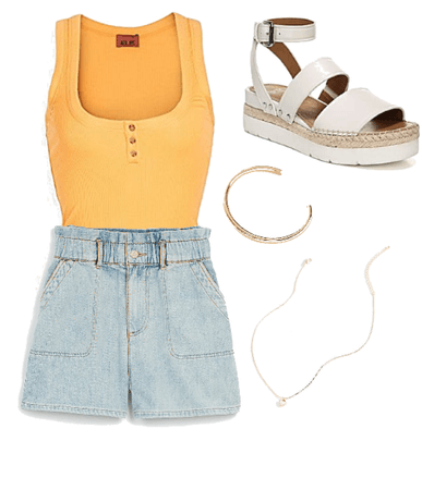 Summer Yellow outfit