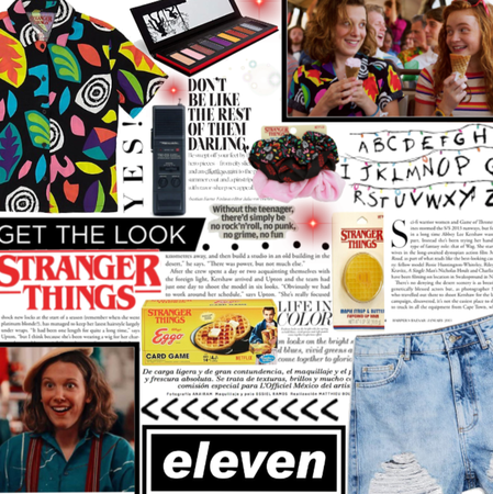 GET THE LOOK: Stranger Things Eleven- TAN TV SHOW