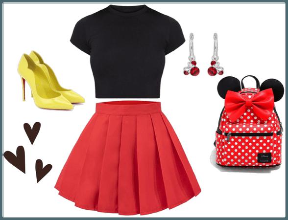 Minnie Mouse DisneyBound