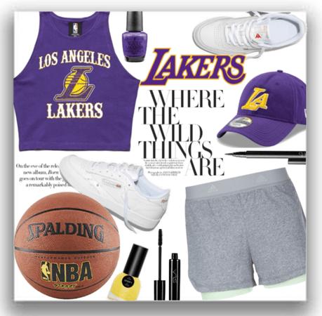Lakers fan