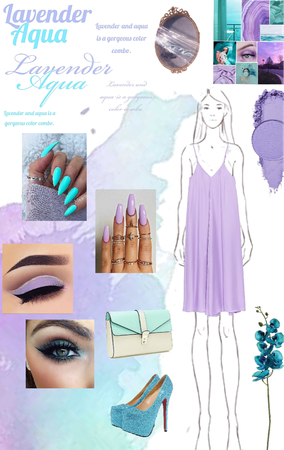 lavender aqua