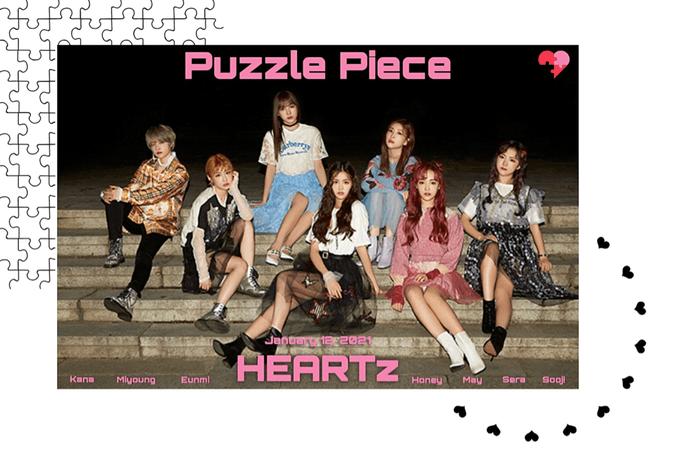 HEARTz// 'Puzzle Piece' Group Teaser Photo Missing Ver.