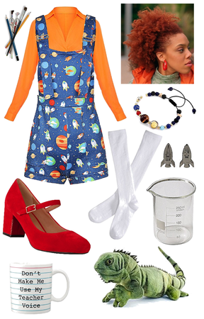 Tv Inspired Costume - Ms. Frizzle