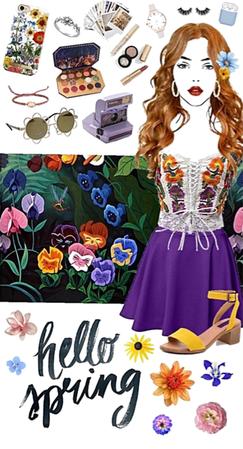 Spring Wildflowers - Alice in Wonderland
