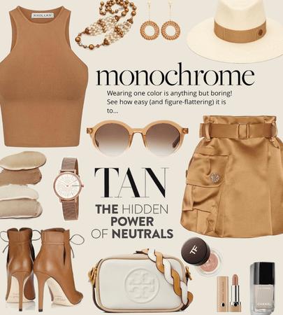Monochrome Tan